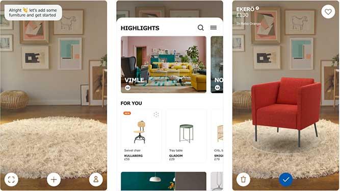 realidad aumentada en tienda virtual