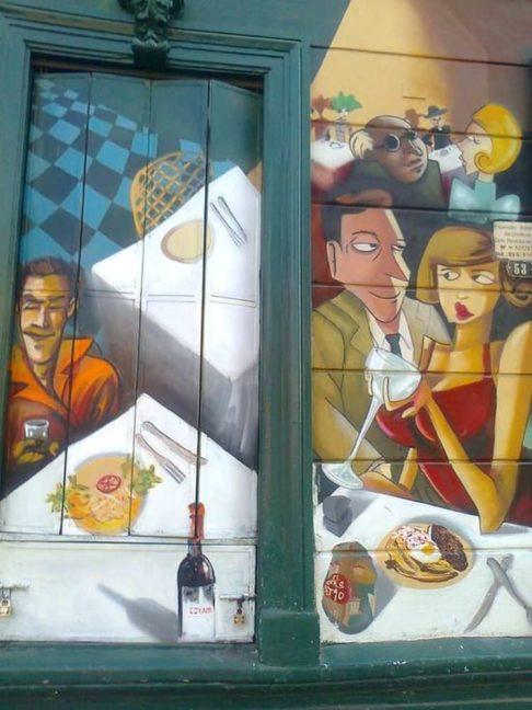 grafitis en persinas
