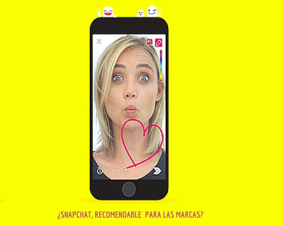 snapchat para las marcas