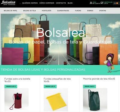 tienda online de bolsas papel
