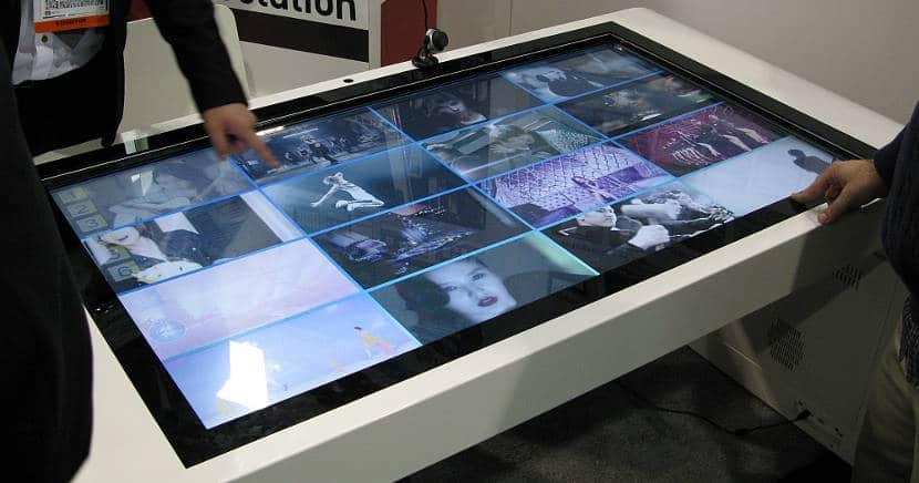 tiendas con pantallas táctiles