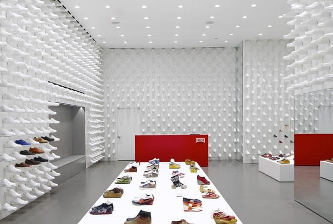 visual merchandising para zapaterías