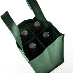 Bags for four bottles 18x30x18