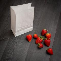 Bolsas blancas sin asas 14x24x8