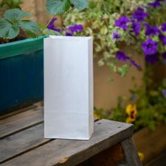 Bolsas blancas sin asas 10x21,5x6