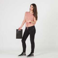 Bolsas de tela negra 20x30x10