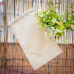 Funda algodón orgánico 150 gr 20x33