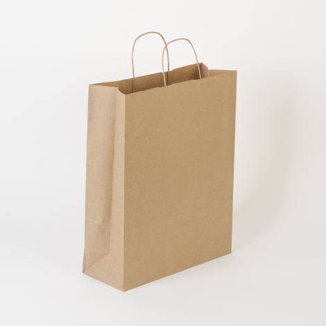 materiales de alta calidad la mejor actitud elige auténtico Bolsas de papel kraft liso 32x40x12