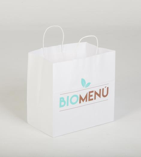 Bolsas de papel take away 30x29x18