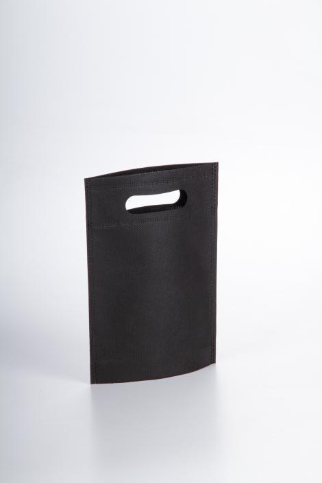 Bolsas de tela negra 17x22,5x5