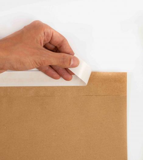 Sobres de papel kraft 90 gr 32x26+4