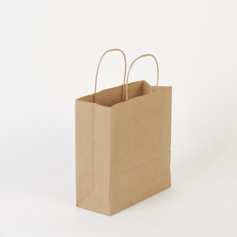 Bolsas de papel kraft 22x23x9