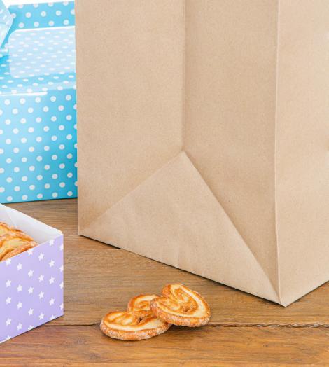 Bolsas de papel take away 37x42x22