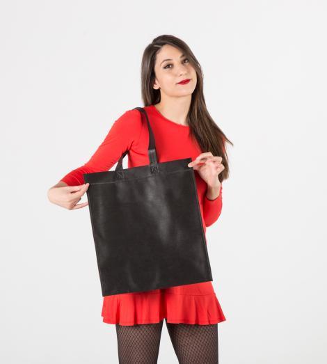 Bolsas de tela negra 38x42