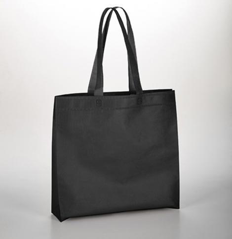 Bolsas de tela negra termosellada 40x40x10