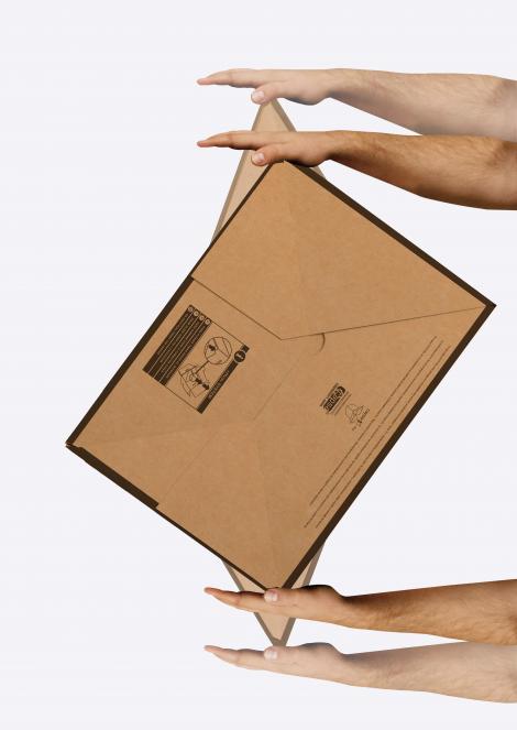 Cajas para envíos montaje fácil 20x20x10