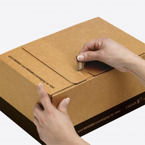 Cajas con cierre autoadhesivo 40x30x20