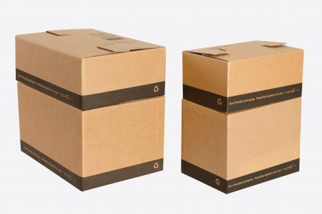 Cajas para envíos montaje fácil 60x40x25