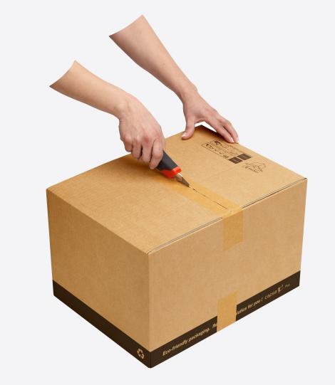 Cajas para envíos montaje fácil 30x20x25