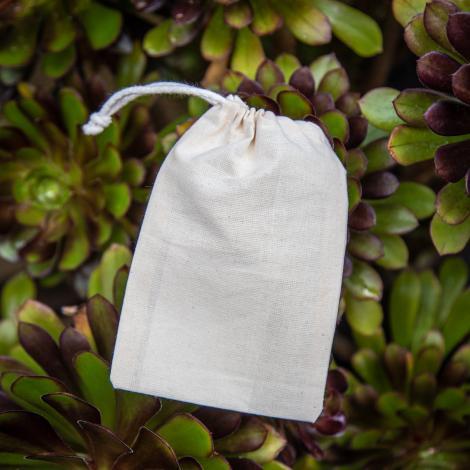 Funda algodón orgánico 150 gr 10x15
