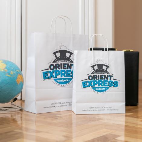 Bolsas de papel 100 gr 32x40x12