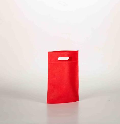 Bolsas de tejido asa troquelada 17x22,5x5