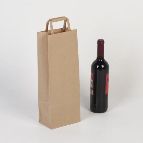 Bolsa para una botella 14x35x9