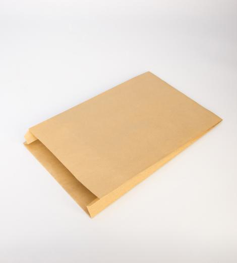 Sobres de papel kraft 50 gr con fuelle 19x35x6