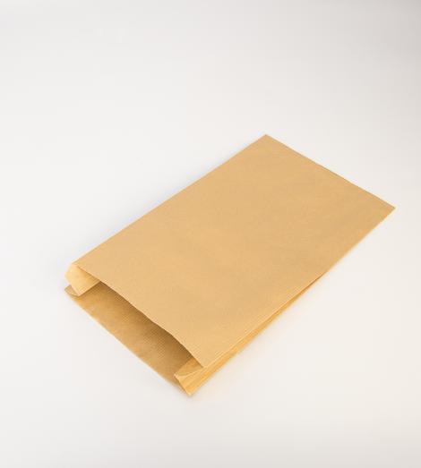 Sobres de papel kraft 50 gr con fuelle 12x24x5